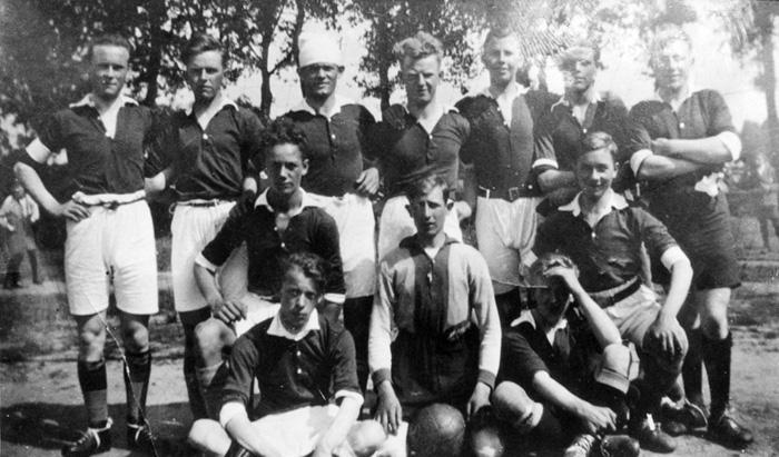 1929 In Goirle tegen S.C.G.-Mastbosch 3-4